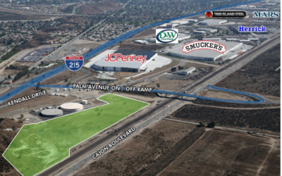 Palm Avenue Logistics Park (Palm Avenue and Kendall Drive, San Bernardino)